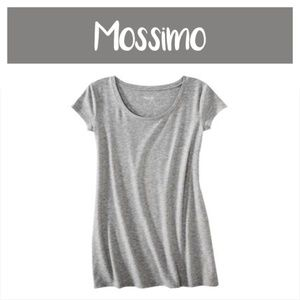 Mossimo Soft Heather Grey T-shirt Dress